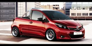 Toyota Yaris Pick Up by Renato9