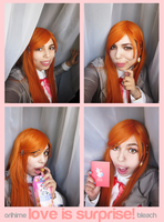 Orihime :: love is surprise! by Maliyura