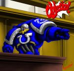 Ultramarine Ace Attorney ID by razorsteel