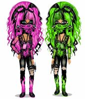 Phyllalia and me on Moviestarplanet french by LauraPhilippeau
