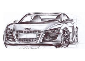 Audi R8 - completata by kluis