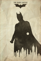 Hero - The Dark Knight Poster by disgorgeapocalypse