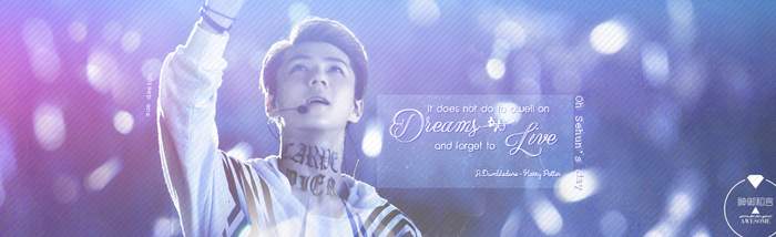 QUOTE Happy Birthday Sehun by SueDesigner