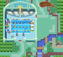 Dreamland Aquarium Map by Feligriffin