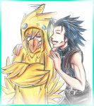 FF7: How cute XD by DarkLitria