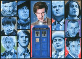 Doctor Who  -  '11'. by caldwellart