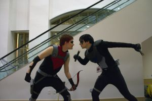 Nightwing vs Red Arrow 4 by SupMissTasty