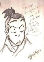 Sokka by AquariusMj212