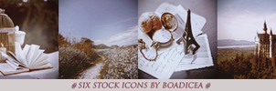 Stock Icons by Boadiceakiss