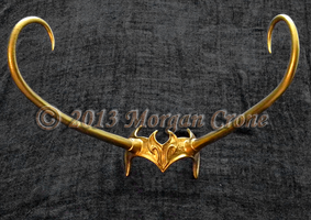 Lady Loki Style Diadem Headress by MorganCrone