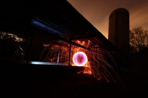 Silo Orb With Purple by drtongs