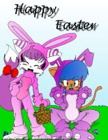 :Happy Easter: by ZamieCat