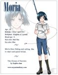 Character profile : Moria by Sophie--Chan