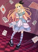 Alice in Wonderland by clayscence