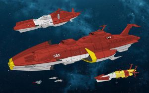 EDF Fleet by farstar09