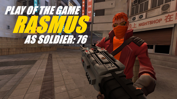 Play of The Game: Soldier: 76 1 by RasmusHolmgren