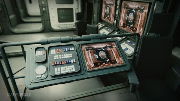 Small Starship Command Deck 4 by DanBrownCGI