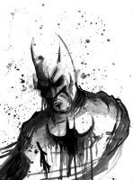 Batman Sketch by CoreyBrown