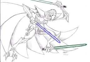 General Grievous by Ragnarokdragon