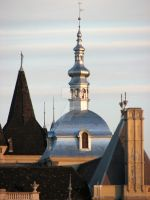 dome and tower by IronAries