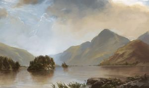 Masterstudy of Kensett's Lake Georgia by eeliskyttanen