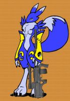 Vulpy whit Gauss rifle by sedsone