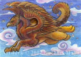 ACEO Gryphon 01 by rachaelm5