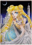 Princess Serenity fan art by Suki-Manga