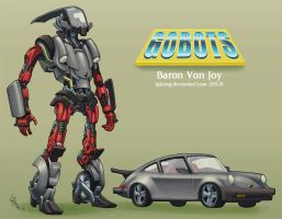 Prime'd GoBots: Baron Von Joy by lgliang