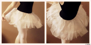 Homemade ballet tutu by L-Justine
