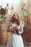 butterflies in the stomach by Anna1Anna