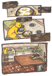 Bee - mini comic by pan77155