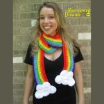 Updated Rainbow Scarf by ManifestedDreams
