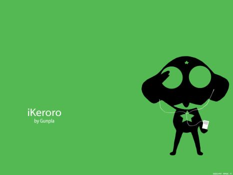 iPod Meets Keroro by SadCharlotte