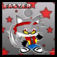 Faster the Fox Chao by CCgonzo12