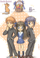 a rice ball in a fruits basket by chibiirose