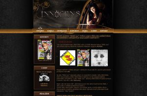 Innocens official website 2008 by brejk