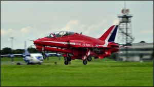 Red Arrows Take off 5 / FAS 2012 by Somebody-Somewhere
