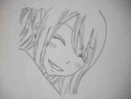 Lucy Smiling by fairytail0913