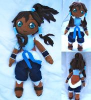 Avatar Korra Plush by dollphinwing