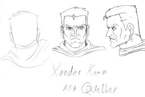 new charachter head sketches by hany-khattab