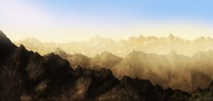 Rocky Mountains by Kev1987