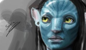 Neytiri by Sonia-bessona