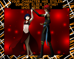 Stealin' Clothing Meme: Vi and Ren by TheAnimatedReviewer