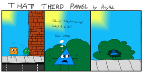 That Third Panel - More Friends #5 by Roy4242