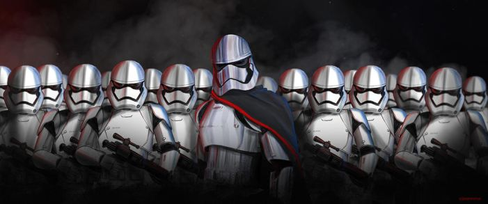 Captain Phasma with a Squad of New Order Troopers by Jason-Venus