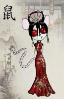 Chinese Zodiac-Rat by ScorpionsKissx