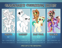 .:: commission prices ::. by Cinnacake