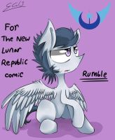 Rumble - For The New Lunar Republic Comic by Rigiroony