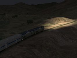 Southwest Chief at Night by SouthwestChief